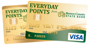 Everyday Points Visa Debit Card